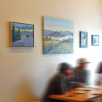 Solo Show at Flying Goat Coffee